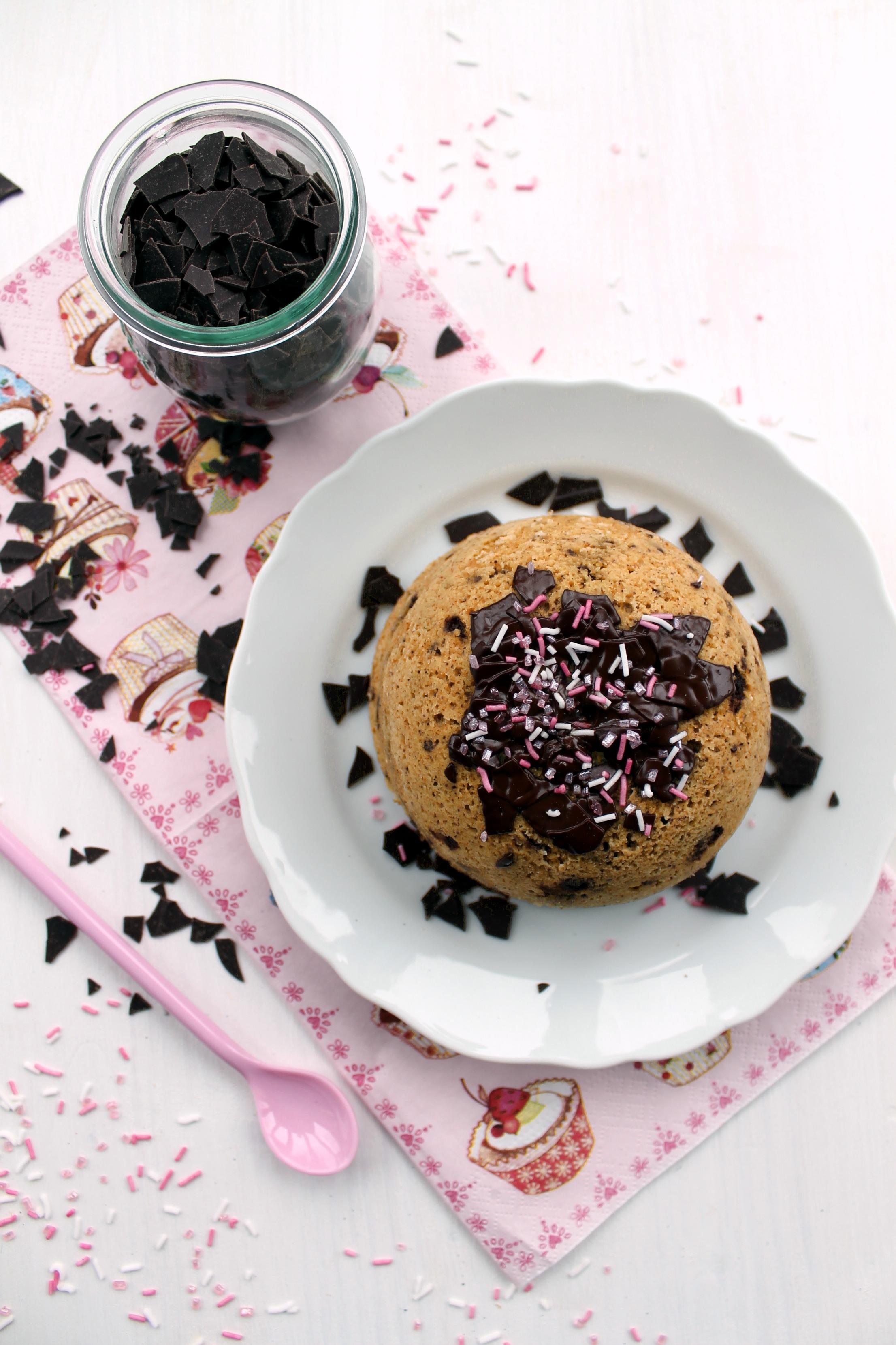 Spanish Vanilla Birthday Mugcake 1000 Lovely Things