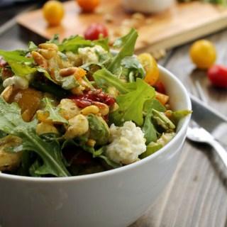 Healthy Pesto Gnocchi Salad