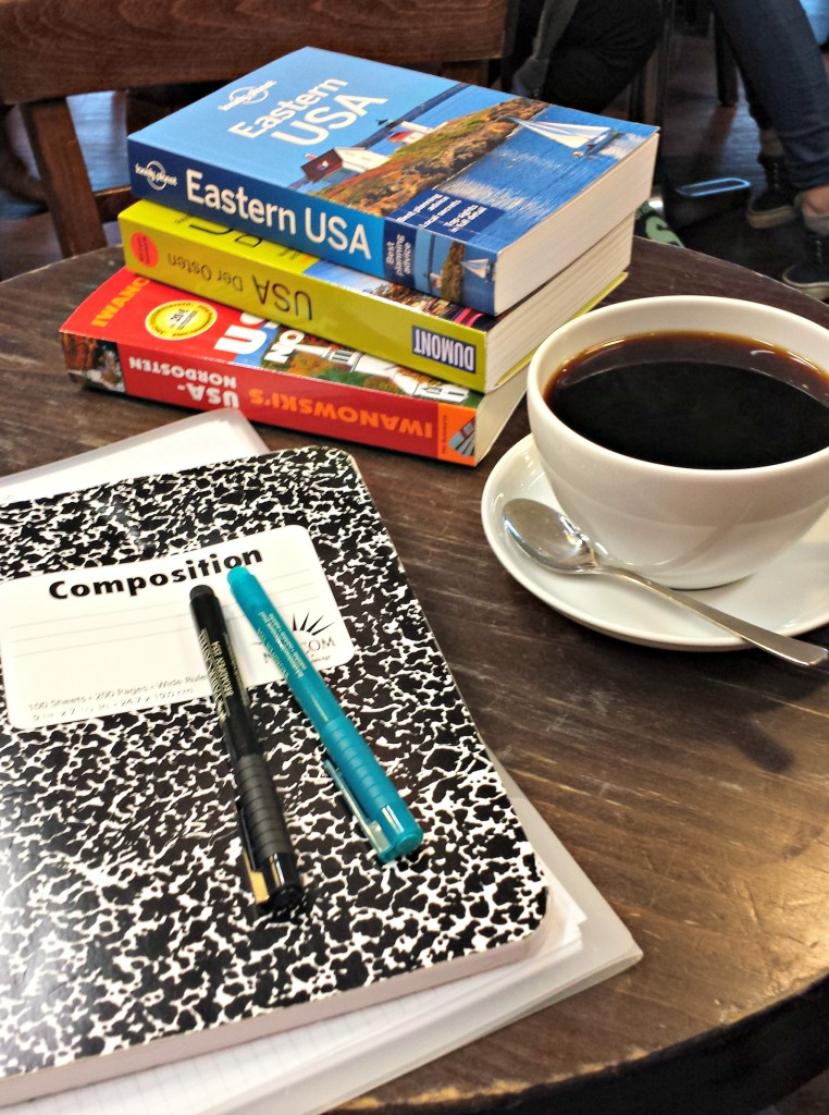 coffee shop travel planning
