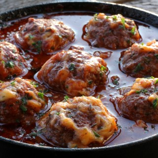 Parmesan Marinara Meatballs Recipe