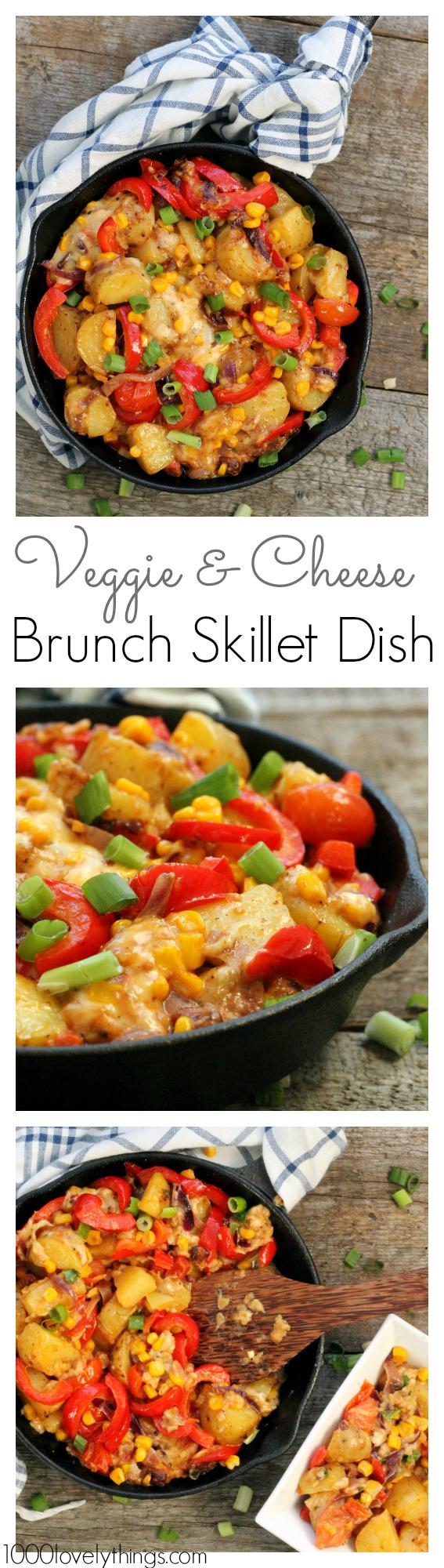 veggie-and-cheese-skillet-dish
