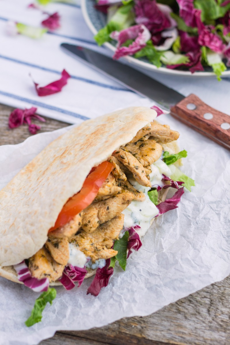 Chicken Gyros Sandwich-21