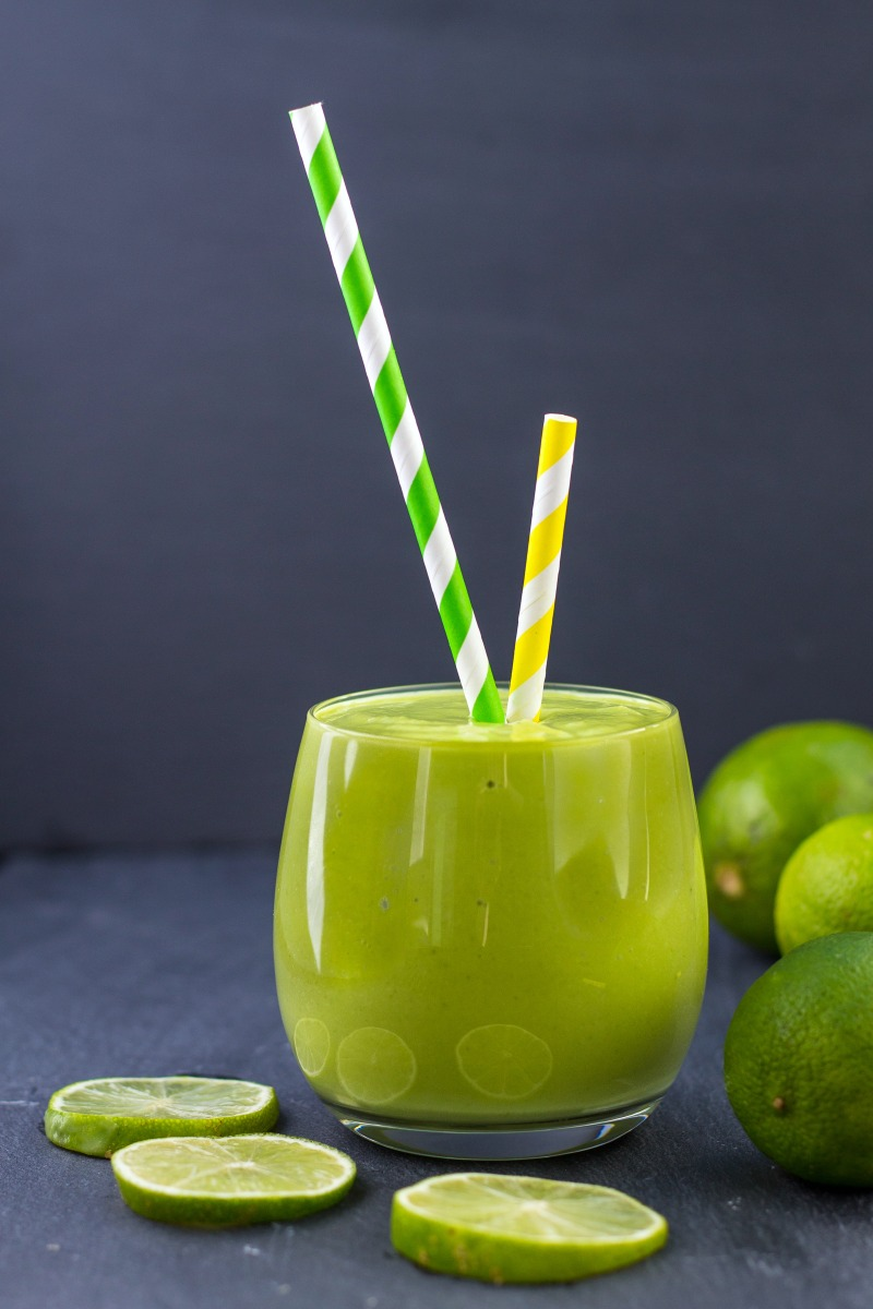Healthy Key Lime Pie Smoothie- summer recipes