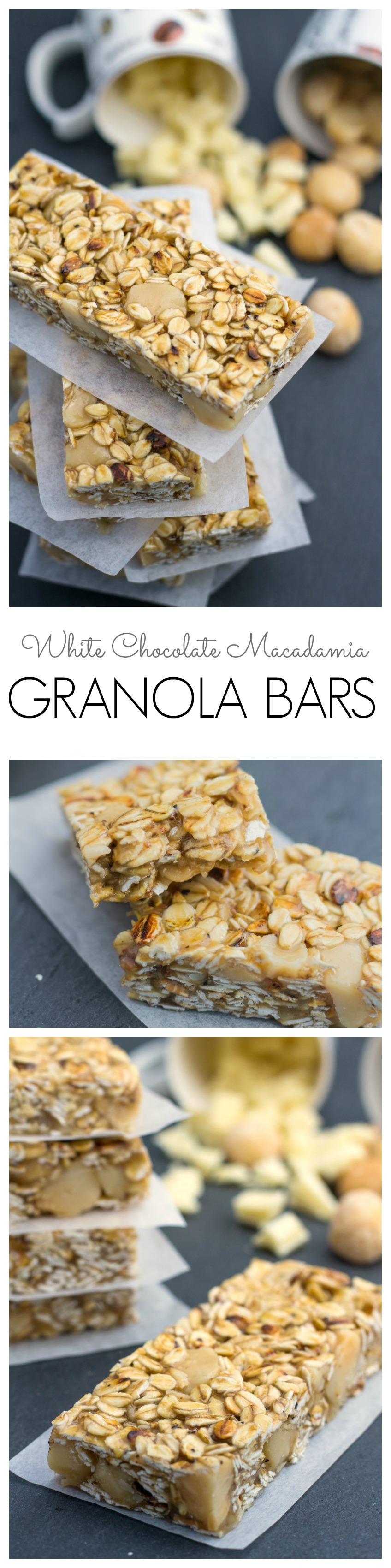 White Chocolate Macadamia Granola Bar