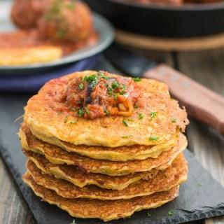 Crispy Parmesan Potato Pancake Recipe