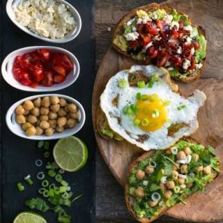 Avocado Toast: 10 Minutes – 3 Ways