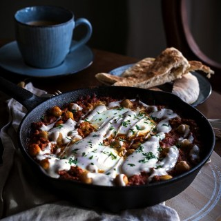 Spicy Beef and Chickpea Shakshuka Recipe