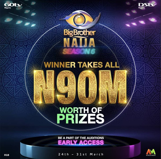 BBNaija 2021 - Official Audition Date And Price Announced