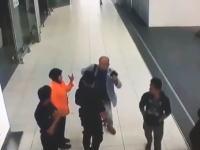 北朝鮮の金正男がマレーシアで暗殺された事件の映像が公開される。