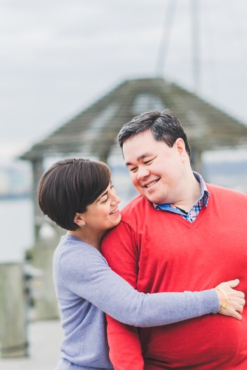 Old Town Alexandria Waterfront Engagement Session, Virginia-16