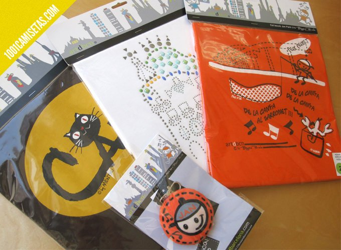 Camisetas artdbcn packaging