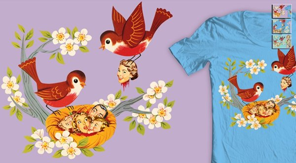 Concurso Threadless pretty ugly