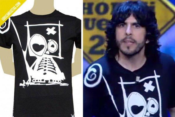 Camiseta Bichobichejo el hormiguero