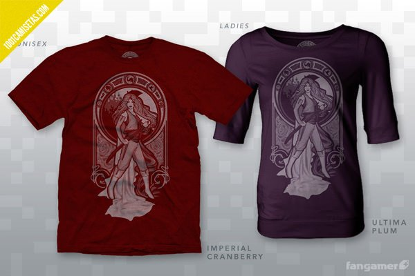 Camisetas serigrafia videojuegos