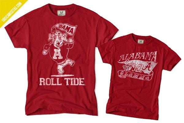 Camisetas College
