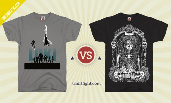 Camisetas tshirt fight