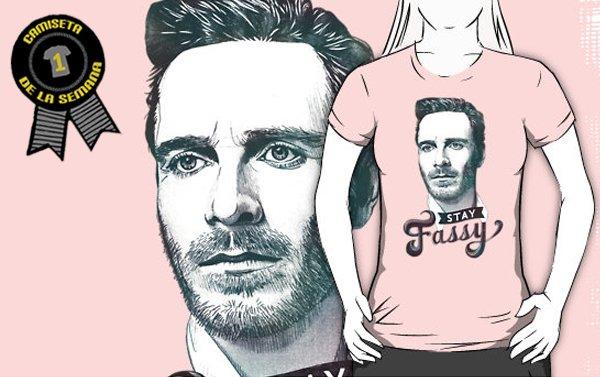 Camiseta de la semana Stay fassy