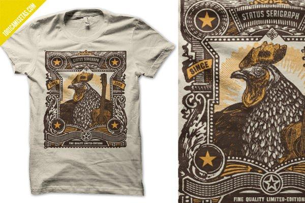 Camisetas serigrafia artesanal