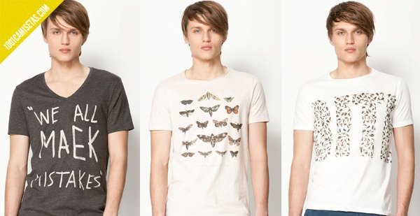 Camisetas estampadas Bershka