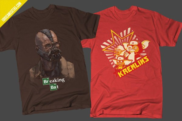 Camisetas Breaking Bad Gremlins