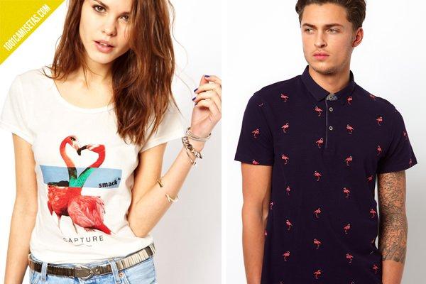 Camisetas flamencos Asos