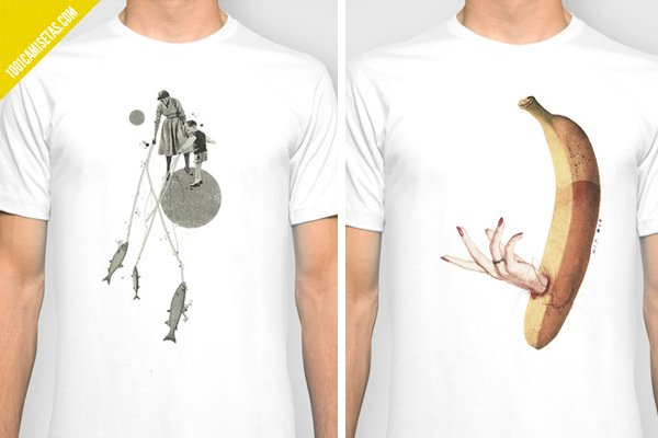 Camisetas Julien Ulvoas