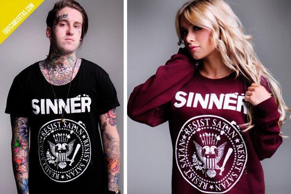 Camisetas sinner