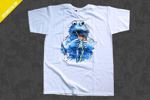 Camiseta monstruo galletas-luis-quintano