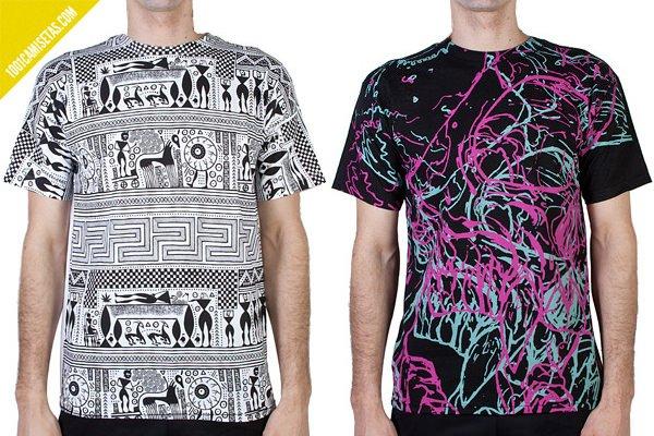 Camisetas full print