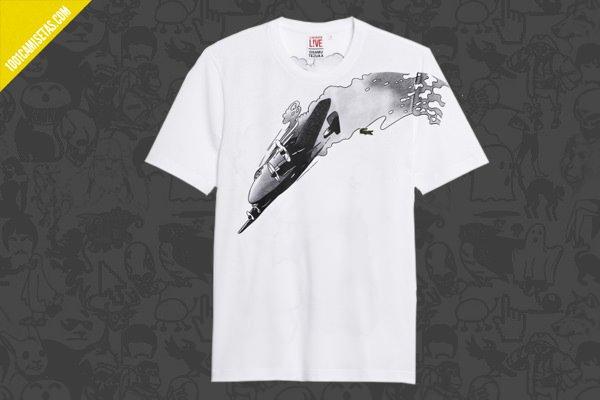 Camisetas manga Osamu Tezuka Lacoste