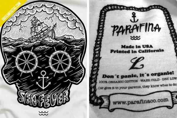 Camisetas Parafina