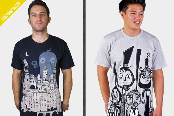 Camisetas estampadas wotto