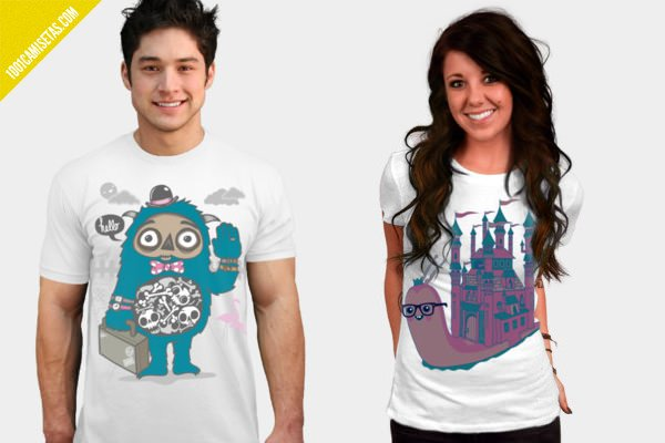 Camisetas Wotto design by humans