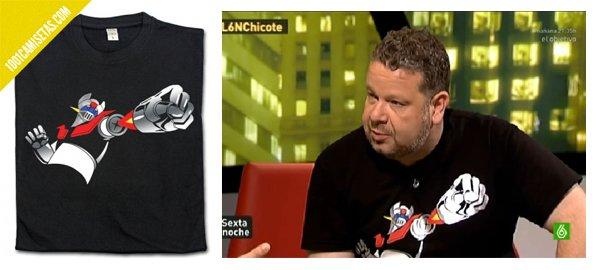Camiseta Chicote Mazinger
