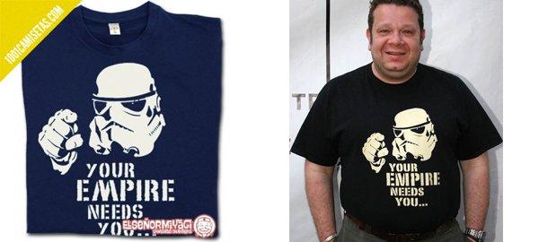 Camiseta chicote star wars