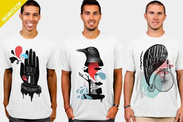 Camisetas Kevin Conor Keller