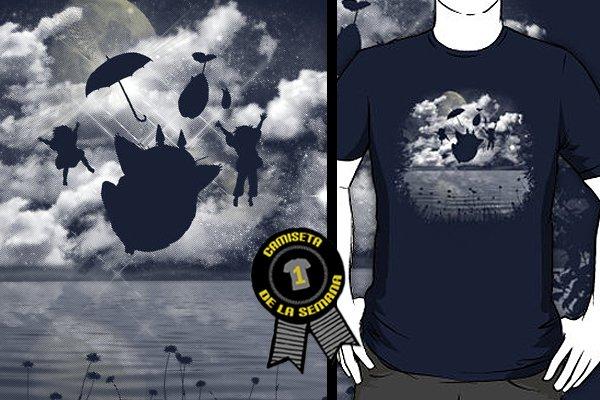 Camiseta de la semana totoro