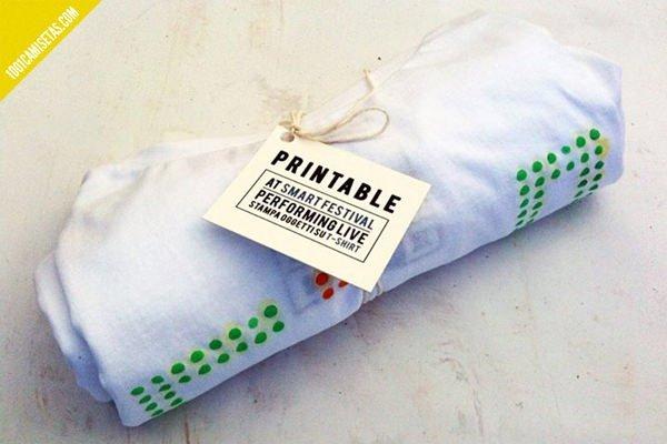 Camisetas packaging