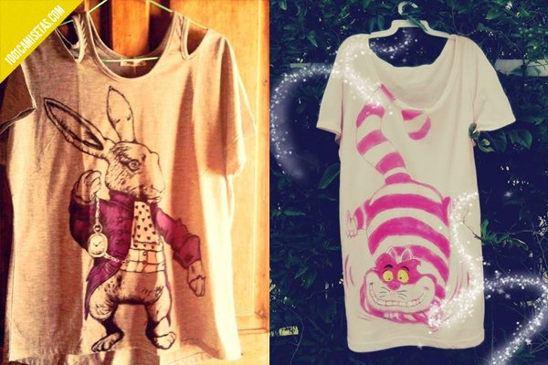 Camisetas Alicia