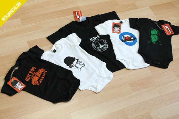 Camisetas infantiles mandarina mecanica