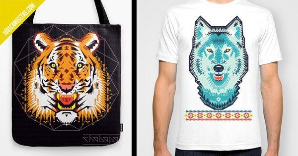 Camisetas animales Chobopop