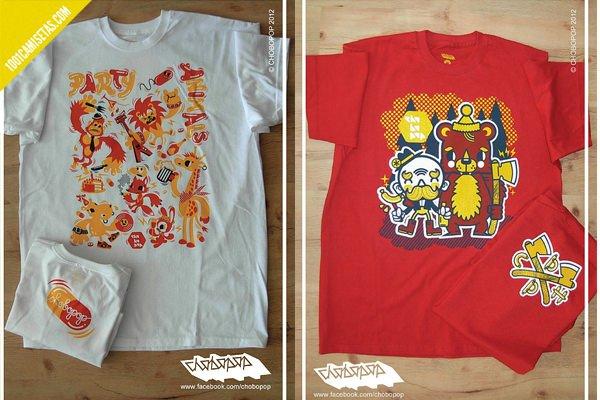Camisetas chobopop