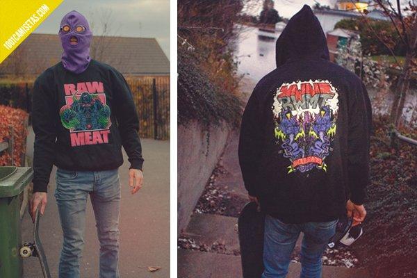 Sudaderas raw meat