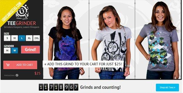 Camisetas graficas chica