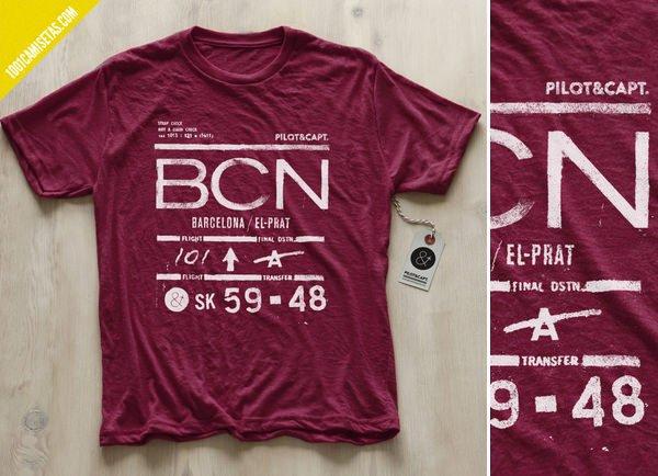 Camiseta barcelona aereopuerto