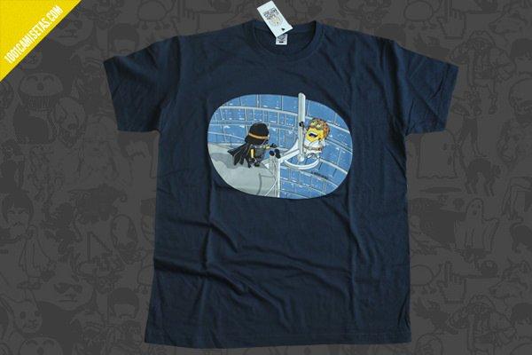 Camiseta Star Wars minions- r-miyagi