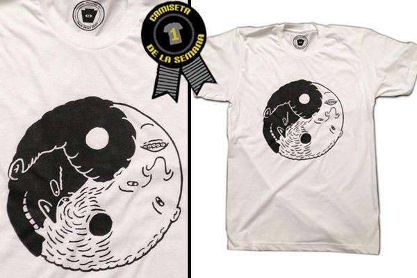 Camiseta de la semana Yin Yang 2c05b2d3e03