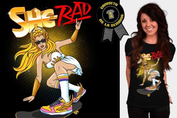 Camiseta Heman She-Rad