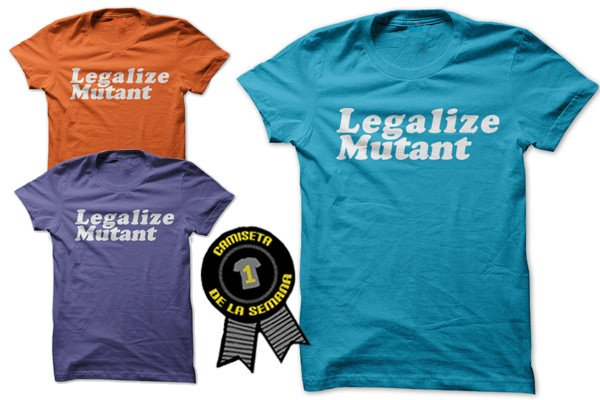 Camiseta X-men legalize mutant