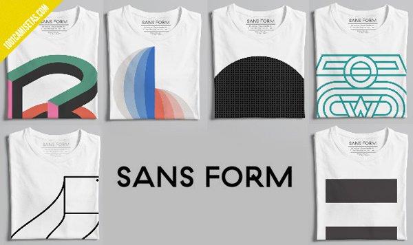 Sans form tshirts